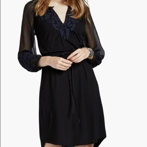 NWT Lucky Brand Embroidered Knit Dress - Sz. XS